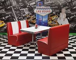 diner style booth table american diner furniture 50s style retro booth table and red booth