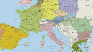 European Country Map by Europe Map Hd Walldevil