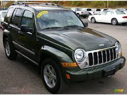 2006 green jeep liberty 2006 jeep liberty limited 4x4 in jeep green metallic photo 12