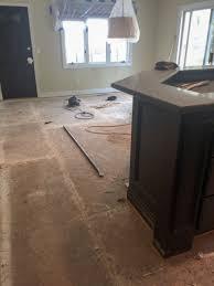 Kitchen Hardwood Flooring Home Series Before And After New Hardwood Flooring In Kitchen