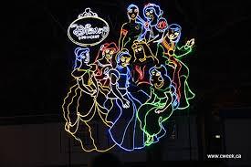 festival of lights niagara falls disney princess canada week