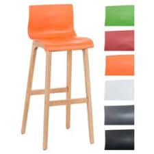 siege plastique tabouret de bar design hoover avec dossier et une assise en