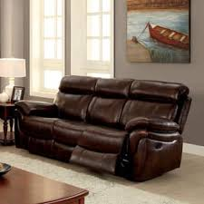 Reclining Sofa Leather Leather Sofas Couches For Less Overstock
