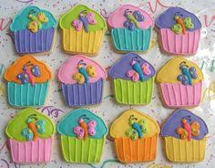 rainbow sparkle cupcakes cupcake decorated cookies food and