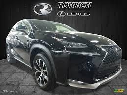 lexus nx 200t black interior 2017 obsidian lexus nx 200t awd 120201504 gtcarlot com car