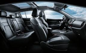 the spacious and comfortable interior of kia mohave making it the