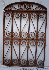 Iron Wrought Wall Decor Wrought Iron Victorian Gate Hanging Wall Garden Decor 6 Click