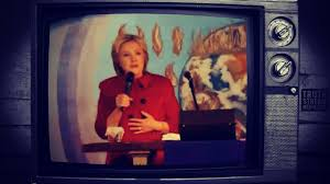 hillary witch costume hillary caught with devil horns during speech in church youtube