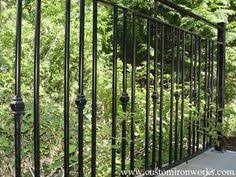 exterior railings w a iron works inc wrought iron railings