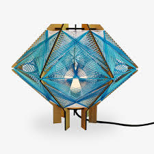 String Lamps Andromeda Inspired By Mid Century Modern String Art Lamps