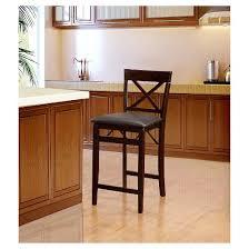 triena x back folding counter stool linon home decor target