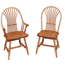 Amish Dining Room Chairs Wheat Back Amish Dining Room Chairs