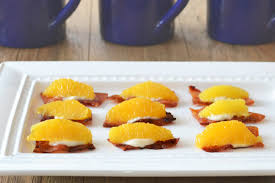 canapes fruit healthier bacon recipes for brunch bacon canapes