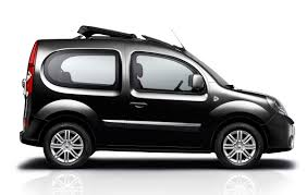 small cars black renault kangoo be bop french cars pinterest cars