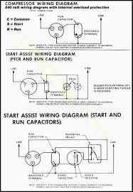 copeland run capacitor wiring wiring diagrams
