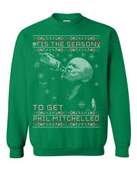 christmas jumper phil mitchell tis the season christmas jumper eastenders