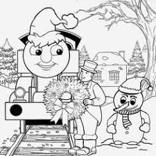 thomas friends train coloring pages free printable