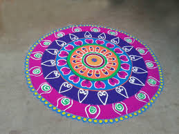 Diwali Home Decorations Best Rangoli Designs For Diwali Free Hand With Colors Download