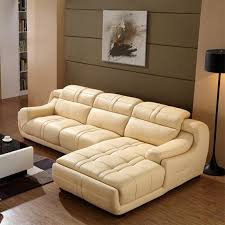 Modern Genuine Leather Sofa In Sofa Furnitureliving Room - Full leather sofas