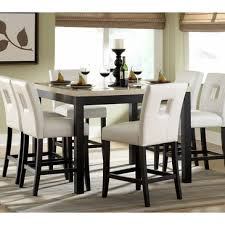 7 piece counter height dining room sets homelegance archstone 7 piece counter height dining room set w