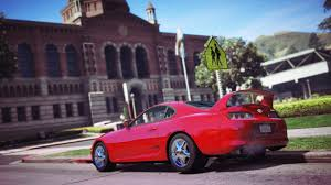 custom toyota supra twin turbo 1998 toyota supra rz gta5 mods com