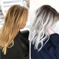 creating roots on blonde hair brassy yellow blonde to shadow rooted platinum olaplex blog