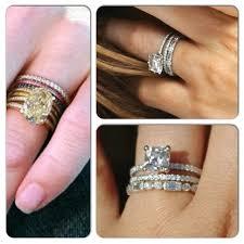 wedding band ideas stacked wedding rings this idea style rings