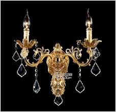 Chandelier Wall Sconce Wholesale Golden Crystal Wall Light Fixture Silver Wall Sconces