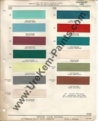 1956 chevrolet bel air car paint colors urekem paints