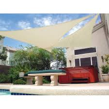 Outdoor Patio Sun Shade Sail Canopy by Captivating Home Outdoor Patio Furnishing Decoration Feats