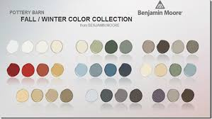pottery barn benjamin moore fall winter 2012 colors kelly