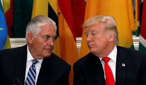trump s tillerson s fury at trump required an intervention from pence