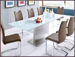 Esszimmer Glastisch Oval Moderne Häuser Mit Gemütlicher Innenarchitektur Geräumiges