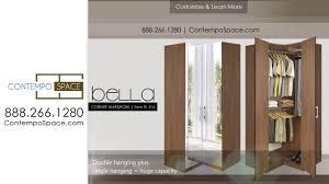 Clothes Cabinet Bella Corner Wardrobe Corner Closet W Three Hangrods Item