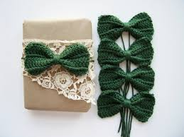 bows for gifts crochet bows for gift wrap and decorations dicaro
