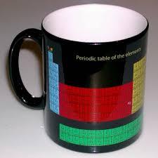 Periodic Table Mug Educational Periodic Table Shop