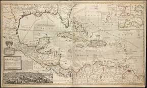 Map Of West Indies A Map Of The West Indies Or The Islands Of America In The North