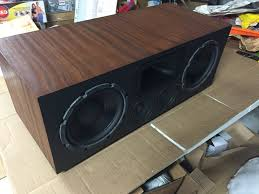Bass Speaker Cabinet Design Plans Home Theater Speakers Diy Speaker Build Youtube