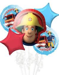 fireman sam balloons party delights