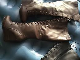 s knee boots size 9 nwot torrid lace up knee boots size 9 ebay