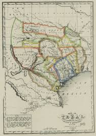 Map Of The State Of Texas The Munsons Of Texas Maps U2014 1836 Map Of Texas