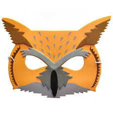 owl mask eared owl mask bird masks children s masks