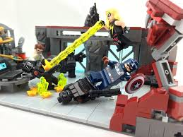 Lego Headquarters Hydra Headquarters Ambush Captain America And Ms Marvel A U2026 Flickr