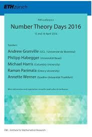 2016 u2013 department of mathematics eth zurich