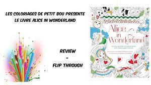 alice in wonderland coloring book youtube