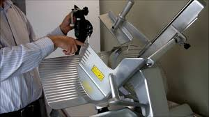 meat slicing machine how to sharpen the commercial meat slicer