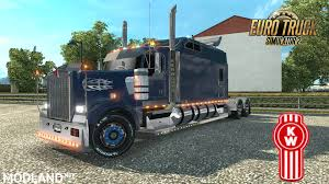 kenworth t900 kenworth w900 long remix 1 26 new mod for ets 2