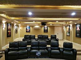 home theatre interior design home theatre room remodel with black recliners benjamin
