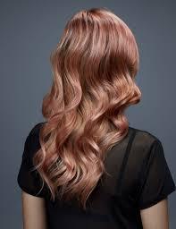 rose gold hair color rose gold haircolor inspiration redken