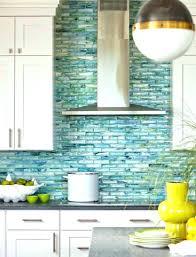 glass kitchen tile backsplash sea glass tile kitchen backsplash yurui me